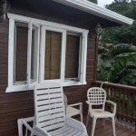 Coco House Porch Roatan Accommodation